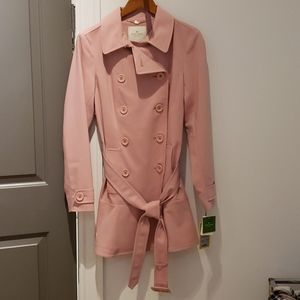 Brand New Pink Trench Coat